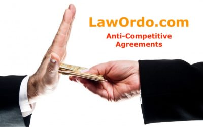 Anti-Competitive Agreements - LawOrdo