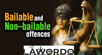 difference between bailable and non bailable offence