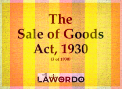 https://www.lawordo.com/ Sale of Goods Act